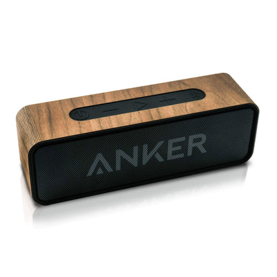 ANKER SoundCore Walnut Wood Cover - balolo