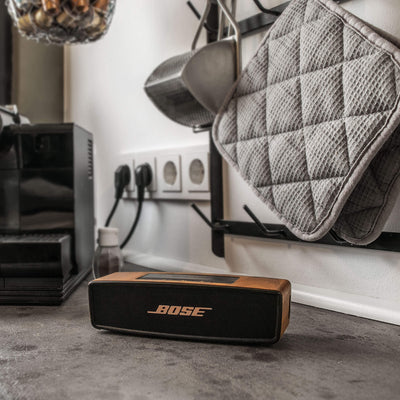 Bose Soundlink Mini I & II Walnut Wood Cover - balolo