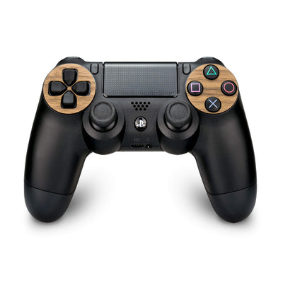 PlayStation 4 Controller Walnut Wood Cover - balolo