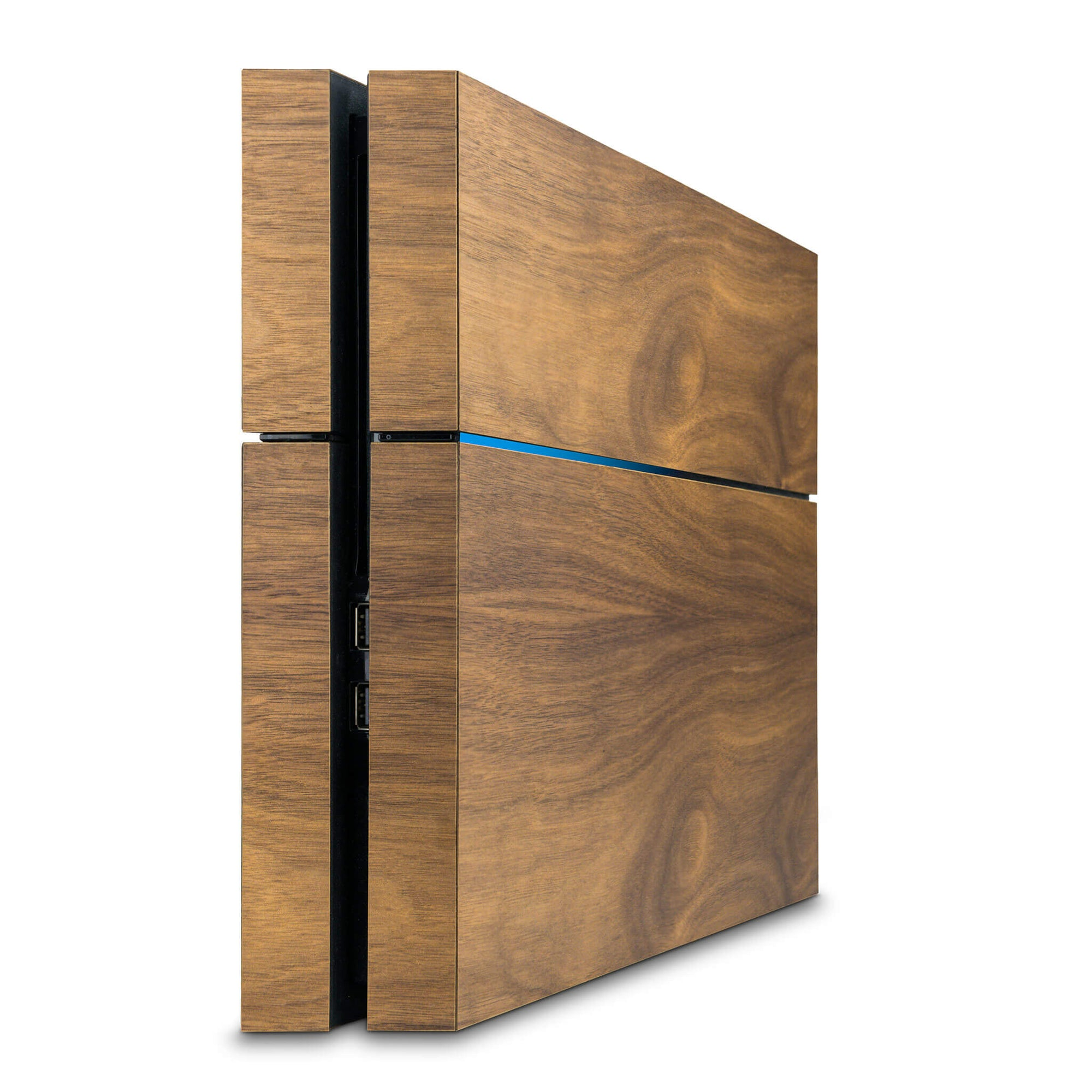 PlayStation 4 Walnut Wood Cover - balolo