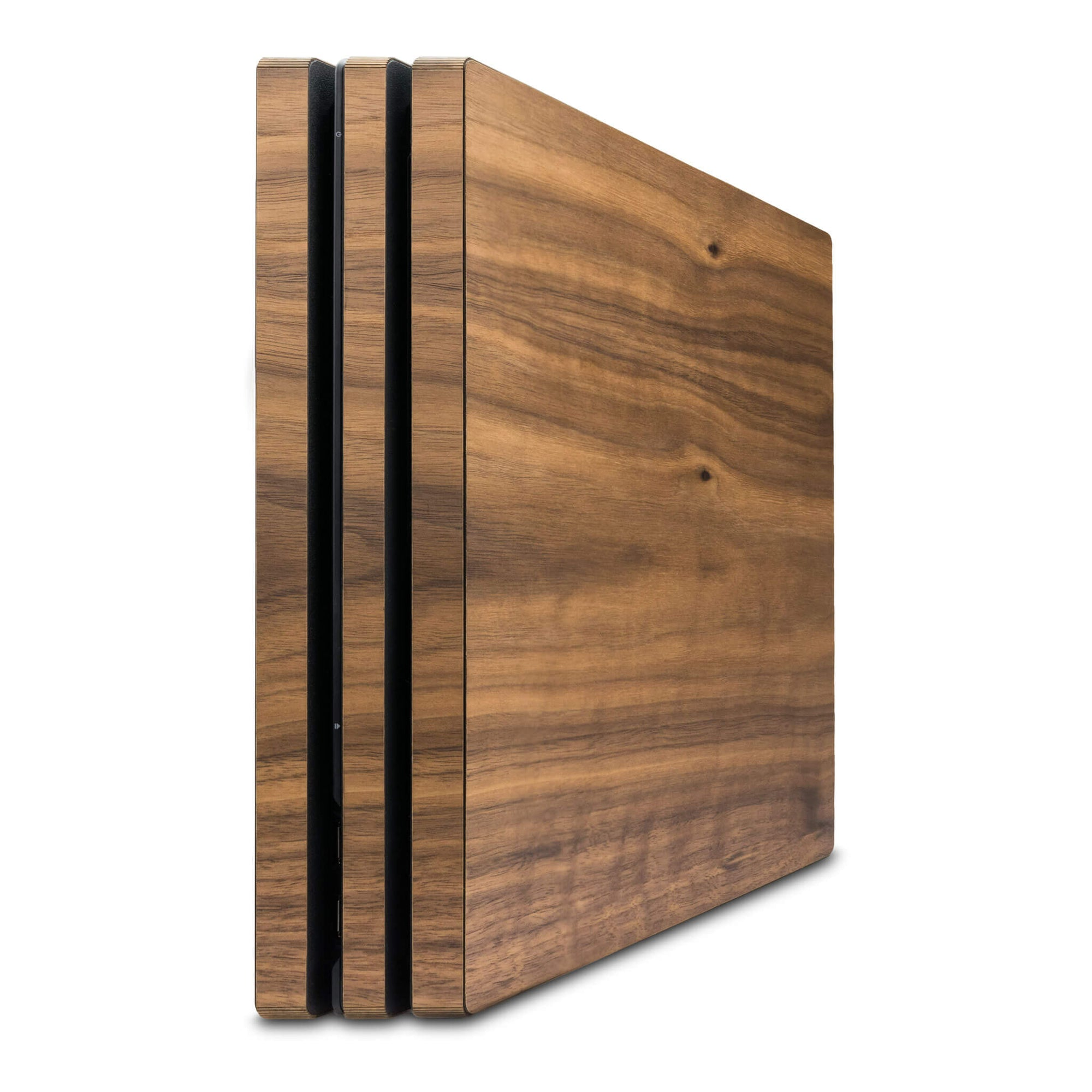 Playstation 4 Pro Walnut Wood Cover