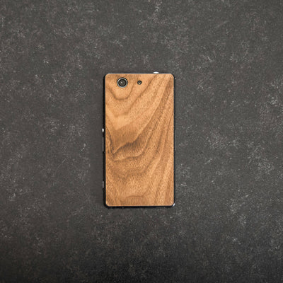 Sony XPERIA Walnut Wood Cover - balolo
