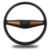 VW T3 (Vanagon) Steering Wheel Wood Cover - balolo