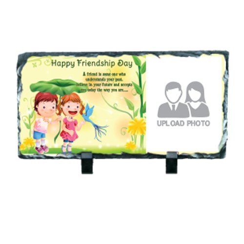 Personalized Friendship Day Special Rectangular Photo Rock