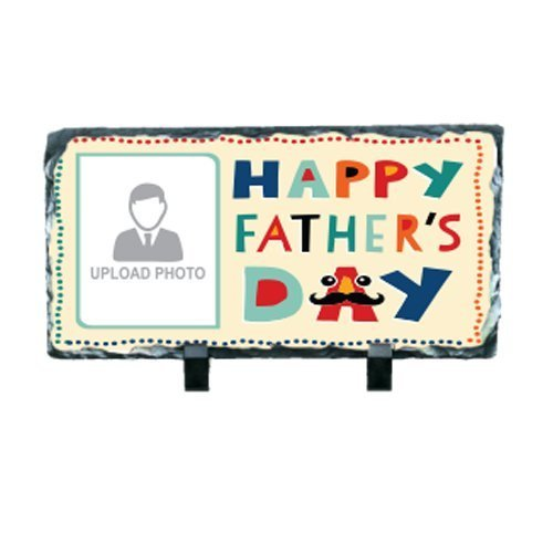 Awesome Father's Day Rectangular Printed Photo Rock For Your Father's (Father's Day Gift)