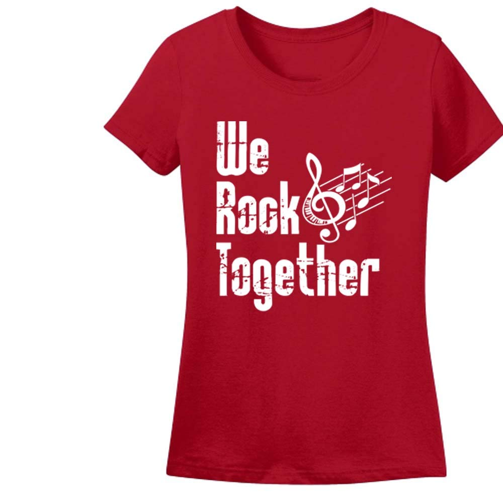 Sprinklecart Family Birthday Tee Gift | We Rock Together Printed Birthday T Shirt