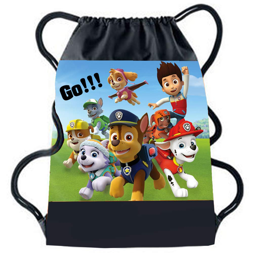 Sprinklecart Paw Patrol Theme Printed Bag to Your Beloved One | Personalized Unique Drawstring Bag