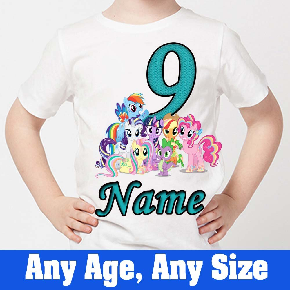 My Little Pony  Kids T-Shirt  for Birthdays Any Name