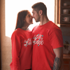 Sprinklecart Set of My Love Birthday T Shirts Cotton T Shirt for Couples