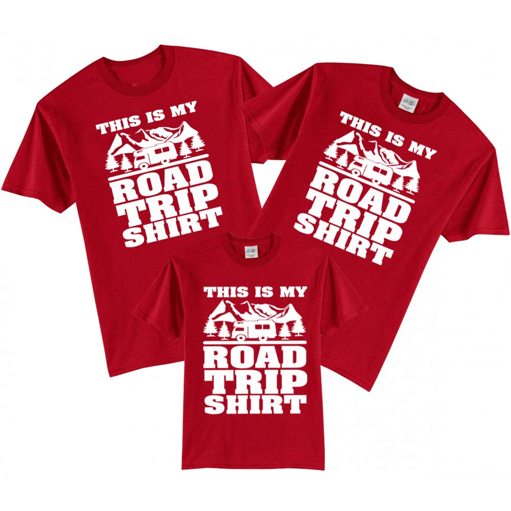 Sprinklecart This is My Road Trip Shirt Family T Shirt | Matching T Shirt for Dad Mom and Kid
