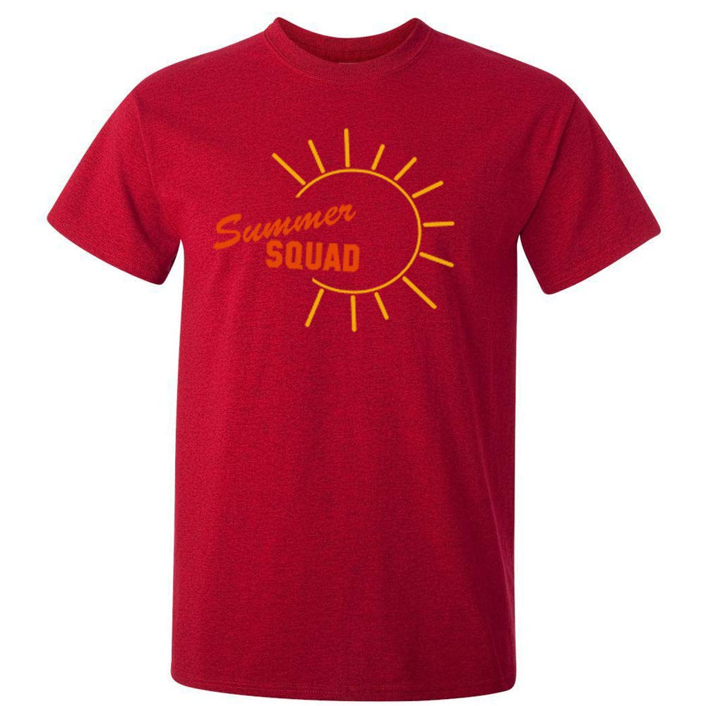 Sprinklecart Summer Squad Family T Shirts | Set of 3 Red T Shirts for Father Mother and Kid