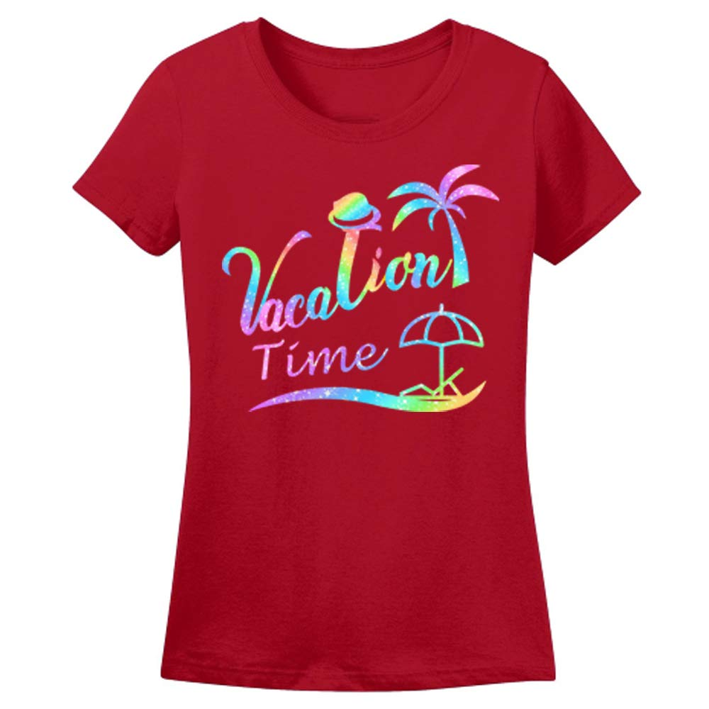 Sprinklecart Unisex Cotton Vacation Time Family Matching T-Shirt