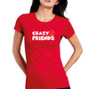 Sprinklecart Crazy Friends Cotton Women T Shirt Combo