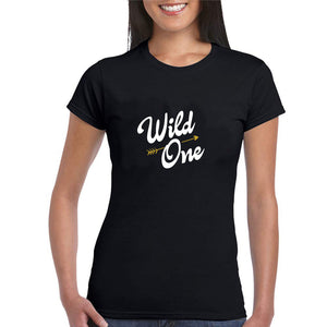 Sprinklecart Matching Wild One Mild One Cotton Women Friends T Shirt Combo