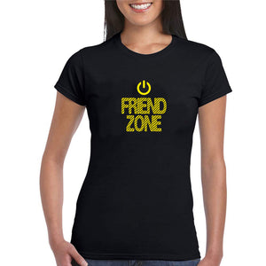 Sprinklecart Friend Zone Matching Women Cotton T Shirts for Friends