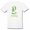 Sprinklecart Cute Monkey T Shirt | Custom Name and Age Printed 2nd Birthday Wear