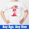 Sprinklecart Cool Princess T Shirt | Custom Name Printed Birthday Dress