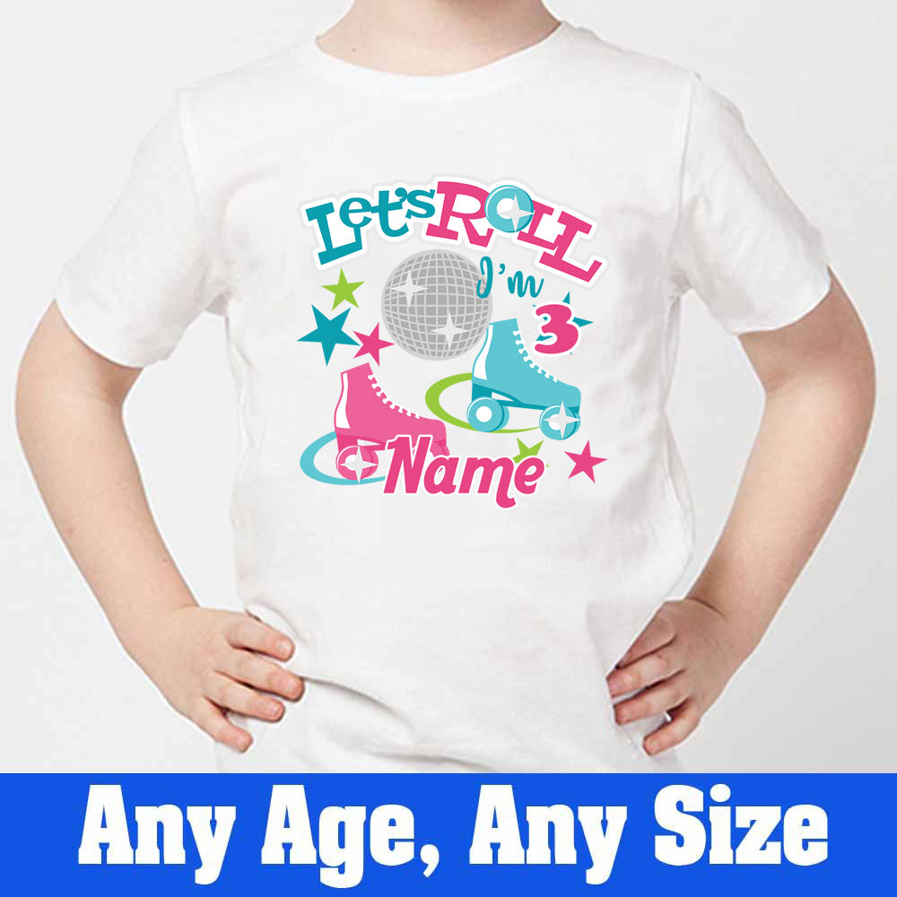 Sprinklecart Let's Role I'm 3 Printed Birthday Wear | Personalized Birthday T Shirt