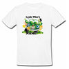 Sprinklecart Look Who's 3 Printed Beautiful Birthday T Shirt Car Birthday Wear