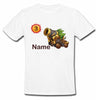 Sprinklecart Military Tank Birthday T Shirt | Custom Name and Age Printed Birthday Wear