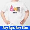 Sprinklecart Customized Name Printed Owl Birthday Dress | Personalized 1st Birthday T Shirt