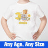 Sprinklecart Awesome 3rd Birthday Gift for Your Angel Angel Birthday T Shirt, Poly-Cotton (White)