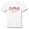 Sprinklecart Rainbow Themed Birthday Wear | Customized 1st Birthday T Shirt for Your Little One