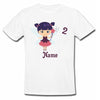 Sprinklecart Cute Fairy Birthday T Shirt | Custom Name and Age Printed Birthday Dress