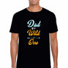 Sprinklecart Wild One Dad of The Wild One Mom of The Wild One T Shirts | Cotton T Shirt Combo