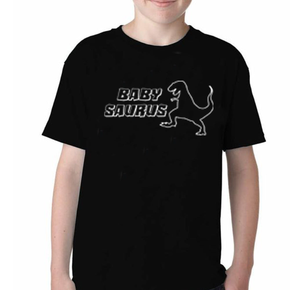 Sprinklecart Daddy Saurus Mama Saurus Baby Saurus Printed Family T Shirt | Set of 3 T Shirts