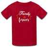 Sprinklecart Family Forever Printed Women Men Kid Cotton T Shirts Combo
