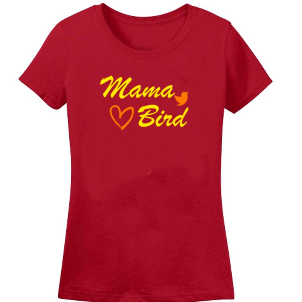 Sprinklecart Pappa Bird Mama Bird Baby Bird Printed Matching Family Men Women Kid Cotton T Shirt