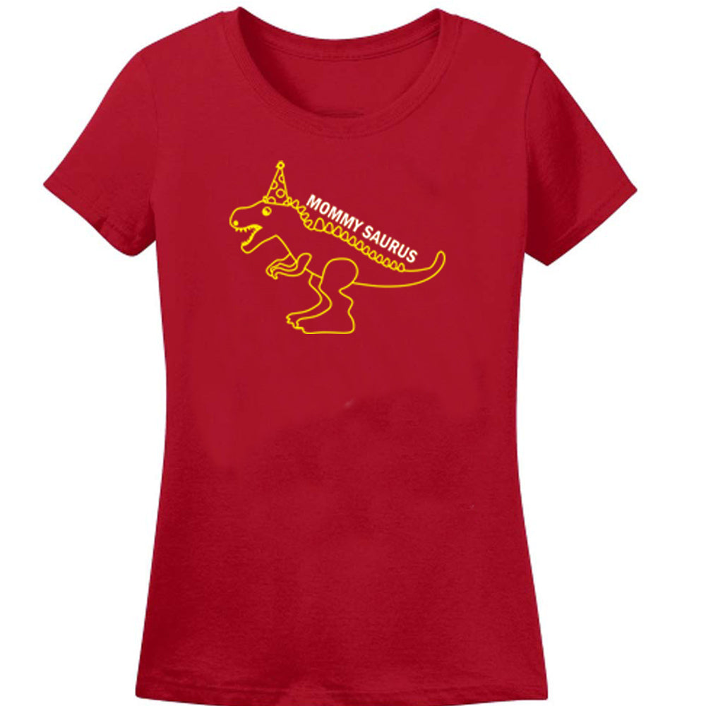 Sprinklecart Personalized Dinosaur Themed 2nd Birthday Matching Men Women Kid Cotton Famiy T Shirt Set