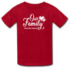 Sprinklecart Our Family Together Forever Printed Women Men Kid Matching Cotton Family T Shirts