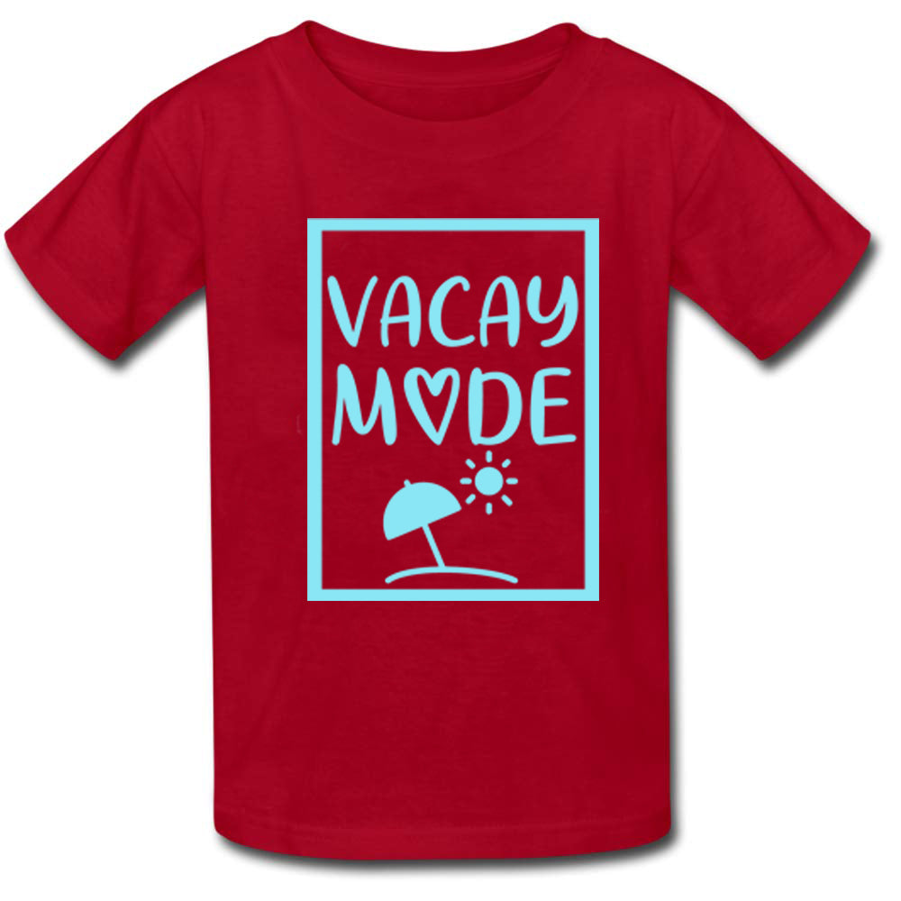 Sprinklecart Vacay Mode Printed Ideal Family T Shirt Combo | Cotton Wear for Family