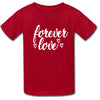 Sprinklecart Matching Forever Love Printed Cotton T Shirt | Combo of 3 Cotton T Shirt for Father Mother and Kid