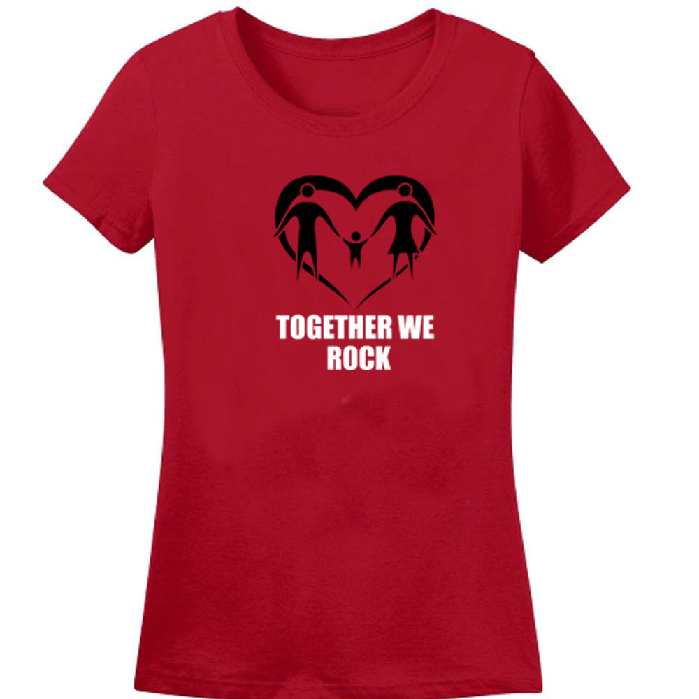 Sprinklecart Together We Rock Matching T Shirt | Cotton Family T Shirt
