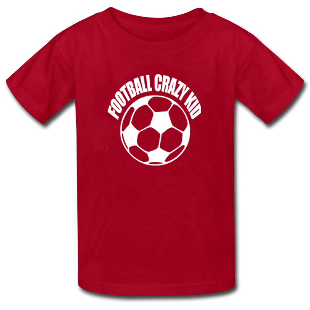 Sprinklecart Footballl Crazy Dad Football Crazy Mom and Football Crazy Kid Printed Family T Shirt