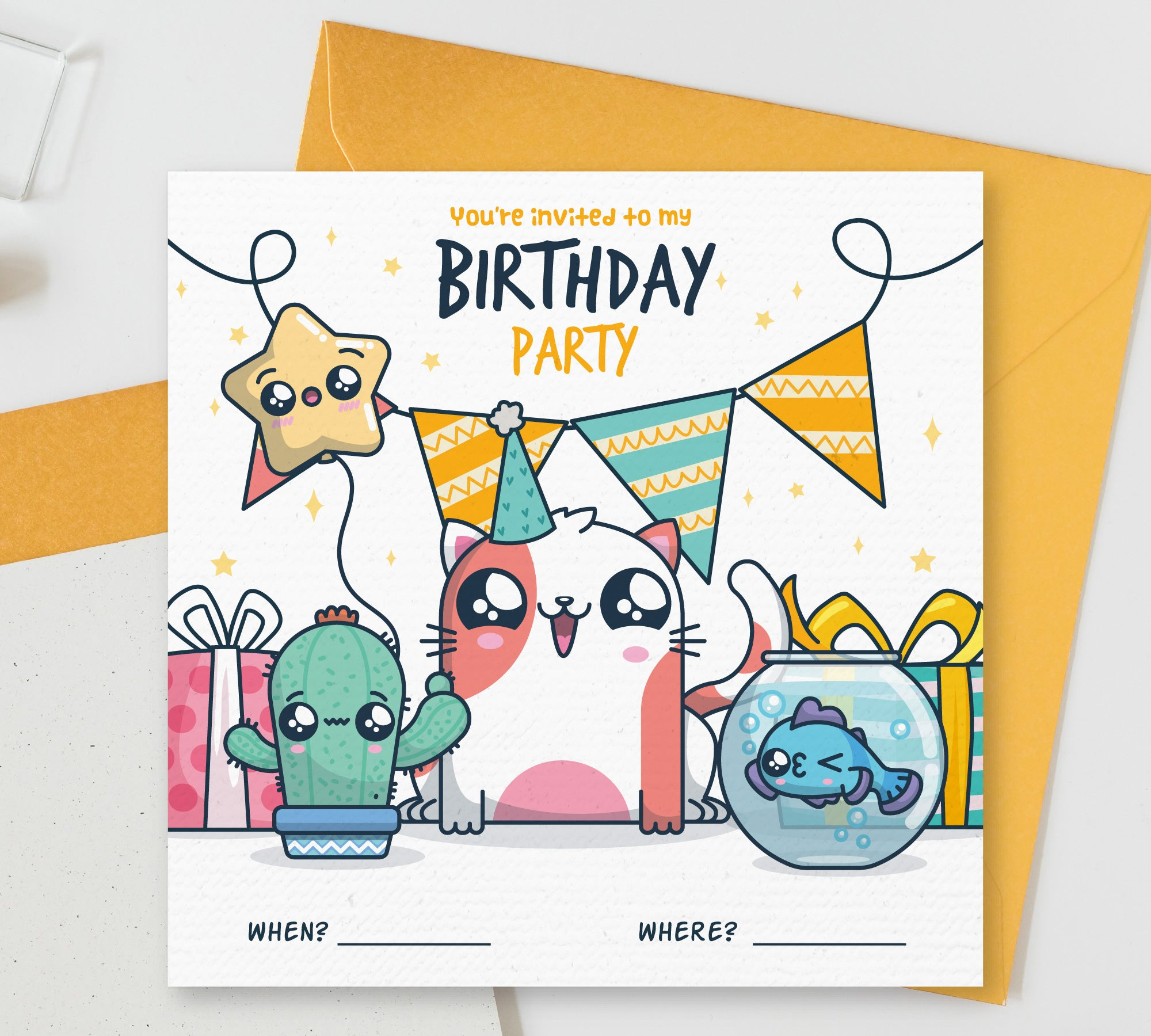 You Are Invited To My Birthday Party Party Theme Printed Invitation Card Set Of 25 Pcs