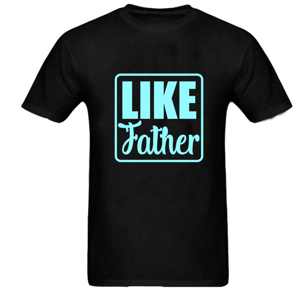 Sprinklecart Like Father Like Son Printed T Shirt | Combo of 2 Black Cotton T Shirt