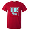 Sprinklecart Like Father Like Son Printed T Shirt | Combo of 2 Red Cotton T Shirt