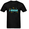 Sprinklecart I Fix I Break T Shirt Set | Combo of 2 Black T Shirt for Dad and Son