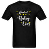 Sprinklecart Coolest Daddy Ever Coolest Baby Ever Men Kid Cotton T Shirts (Black)