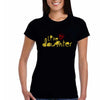 Sprinklecart Like Mother Like Daughter Matching Black Cotton T Shirt for Mom and Daughter