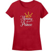Sprinklecart Mommy of a Prince Son of a Queen Printed T Shirt | Red Cotton T Shirt Combo