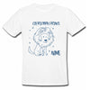 Sprinklecart Personalized Capricorn Prince Star Sign Poly-Cotton T Shirt for Kids (White)