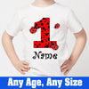 Sprinklecart Kids Special 1st Birthday Dress | Personalized Name Printed Lovely Birthday Tee Gift