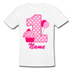 Sprinklecart Special 1st Birthday Wear | Customized Name Printed Ice Cream | Balloons |Tee Gift for Your Little One