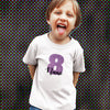 Sprinklecart Custom Name Printed 8th Birthday T Shirt for Your Little Angel