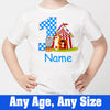 Sprinklecart Circus Themed Birthday Wear | Special Birthday Tee Gift